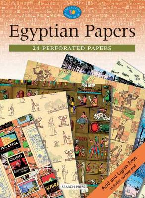 Egyptian Papers: 24 Perforated Papers - Search Press (Creator)