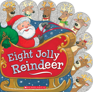 Eight Jolly Reindeer - Oliver, Ilanit