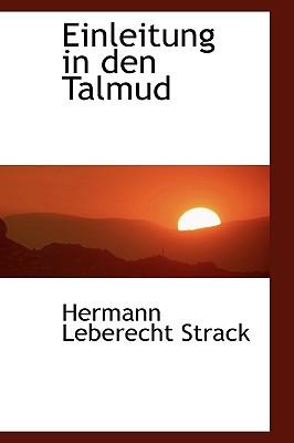 Einleitung in Den Talmud - Strack, Hermann Leberecht