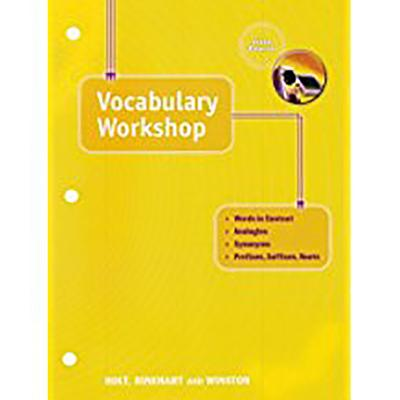 Elements of Language: Vocabulary Workshop Grade 11 Fifth Course - Holt Rinehart and Winston (Prepared for publication by)