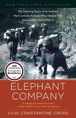 Elephant Company: The Inspiring Story of an Unlikely Hero and the Animals Who Helped Him Save Lives in World War II - Croke, Vicki