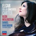 Elgar & Carter: Cello Concertos - Alisa Weilerstein (cello); Staatskapelle Berlin; Daniel Barenboim (conductor)