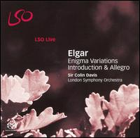 Elgar: Enigma Variations; Introduction & Allegro  - Carmine Lauri (violin); David Alberman (violin); Edward Vanderspar (viola); Gordan Nikolic (violin); Timothy Hugh (cello);...