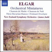 Elgar: Orchestral Miniatures - Preman Tilson (bassoon); New Zealand Symphony Orchestra; James Judd (conductor)