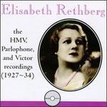 Elisabeth Rethberg: The Complete HMV, Parlophone and Victor Recordings (1927-34) - Beniamino Gigli (tenor); Coenraad van Bos (piano); Elisabeth Rethberg (soprano); Ezio Pinza (bass); Friedrich Schorr (bass);...