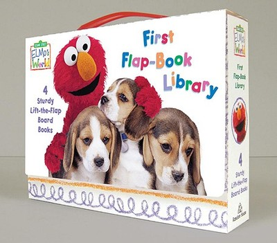 Elmo's World: Sesame Street: First Flap-book Library - Random House