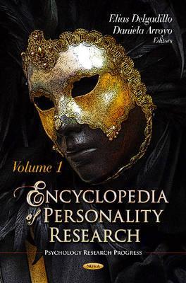 Encyclopedia of Personality Research - Delgadillo, Elias (Editor), and Arroyo, Daniela (Editor)