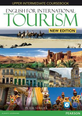 English for International Tourism Upper Intermediate New Edition Coursebook for Pack - Strutt, Peter