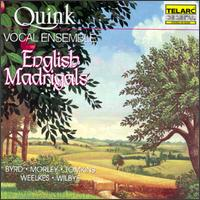 English Madrigals - Corrie Pronk (alto); Harry van Berne (tenor); Kees-Jan de Koning (bass); Machteld Van Woerden (soprano);...