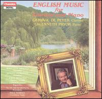 English Music for Clarinet & Piano - Gervase de Peyer (clarinet); Gwenneth Pryor (piano)