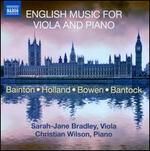 English Music for Viola and Piano
