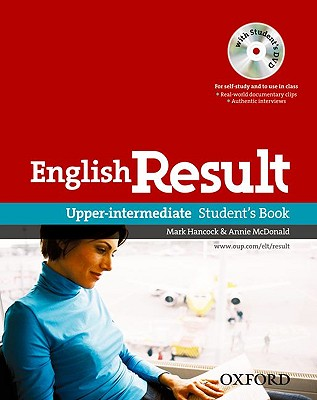English Result: Upper-Intermediate: Student's Book with DVD Pack: General English four-skills course for adults - Hancock, Mark, and McDonald, Annie