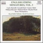 English String Miniatures, Vol. 3