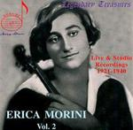 Erica Morini: Vol. 2. Live & Studio Recordings, 1921-1940