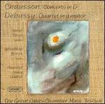 Ernest Chausson: Concerto in D; Claude Debussy: Quartet in G minor