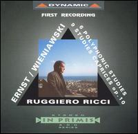 Ernst: 6 Polyphonic Studies; Wieniawski: Caprices - Ruggiero Ricci (violin)