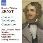 Ernst: Concerto Path?tique; Concertino