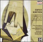 Ernst Krenek: Violin Concertos Nos. 1 & 2; Double Concerto