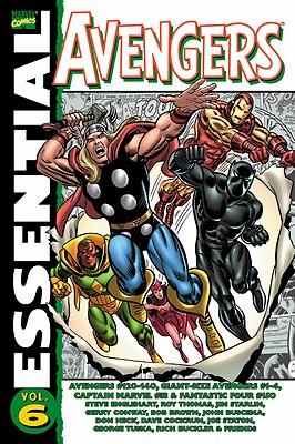 Essential Avengers: Volume 6 - Englehart, Steve (Text by)