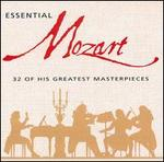 Essential Mozart: 32 of His Greatest Masterpieces - Academy of Ancient Music; Academy of St. Martin-in-the-Fields; Andr�s Schiff (piano); Anne Sofie von Otter (vocals); Barry Tuckwell (horn); Bryn Terfel (vocals); Cecilia Bartoli (mezzo-soprano); Emma Kirkby (soprano); Frances Kelly (harp)