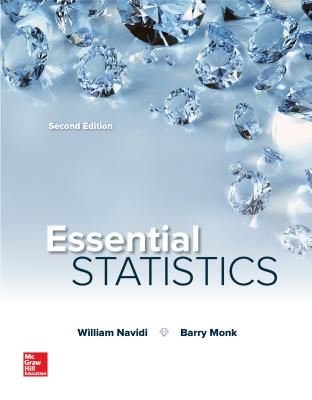 Essential statistics book by prof william navidi 2 available essential statistics navidi william prof and monk barry professor fandeluxe Gallery