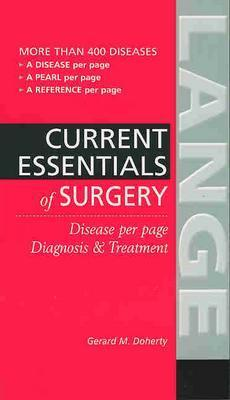 Essentials of Diagnosis & Treatment in Surgery - Doherty, Gerard M, MD