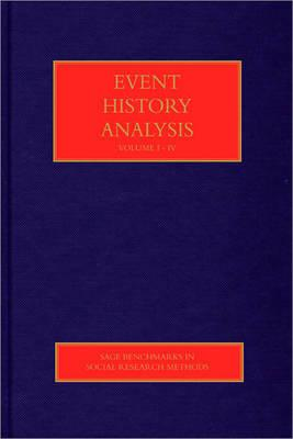 Event History Analysis - Wu, Lawrence L. (Editor)