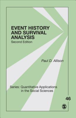 Event History and Survival Analysis - Allison, Paul D