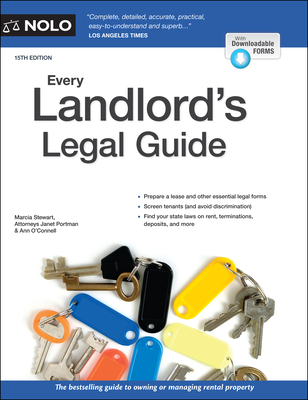 Every Landlord's Legal Guide - Stewart, Marcia, and Portman, Janet, and O'Connell, Ann