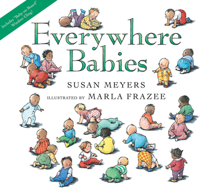 Everywhere Babies Lap Board Book (with Window Cling) - Meyers, Susan