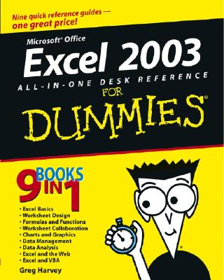 Excel 2003 All-In-One Desk Reference for Dummies - Harvey, Greg