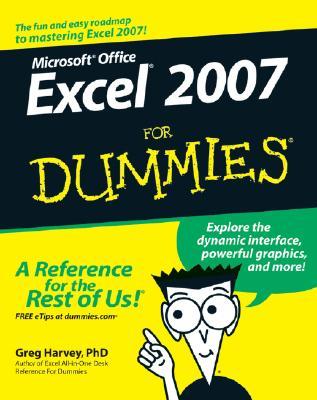Excel 2007 For Dummies - Harvey, Greg