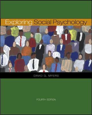 Exploring Social Psychology with Powerweb - Myers, David