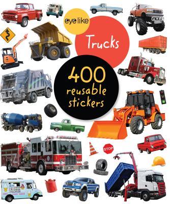Eyelike Stickers: Trucks - Workman Publishing