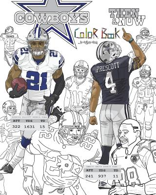 48546445613 Ezekiel Elliott and the Dallas Cowboys  Then and Now  The Ultimate Football  Coloring