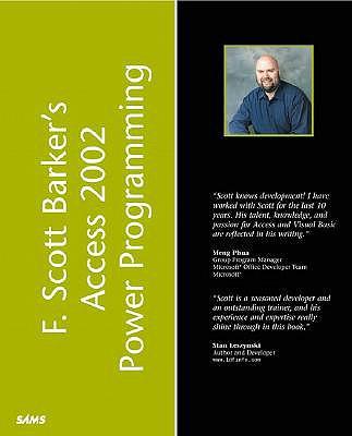 F. Scott Barker's Microsoft Access 2002 Power Programming - Barker, F Scott