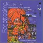 Fagottissima quarta: Virtuoso Rarities for 3-5 Bassoons