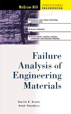 Failure Analysis of Engineering Materials - Brooks, Charlie R, and Choudhury, Ashok, and Brooks Charles