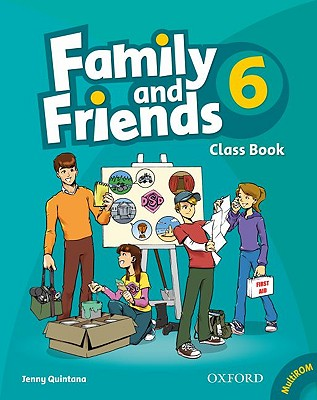 Family and Friends: 6: Class Book and MultiROM Pack - Quintana, Jenny