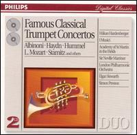 Famous Classical Trumpet Concertos - Håkan Hardenberger (trumpet); Simon Preston (organ)
