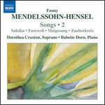 Fanny Mendelssohn-Hensel: Songs, Vol. 2