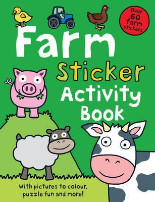 Farm Sticker Activity Book - Priddy, Roger