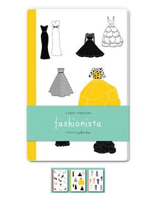 Fashionista Blank Notebooks: Set of Three 48-Page Blank Notebooks - Kuo, Julia