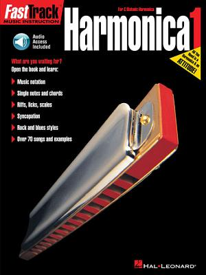 Fast Track: Harmonica - Book One - Neely, Blake