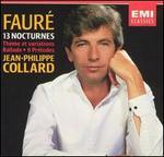 Fauré: 13 Nocturnes; Thème et variations; Ballade; 9 Préludes