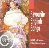 Favourite English Songs - Felicity Lott (soprano); Graham Johnson (piano)