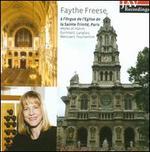 Faythe Freese à l'Orgue de l'Eglise de la Sainte-Trinité, Paris