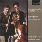 Felix Mendelssohn: Piano Trio D minor, Op. 49; Louise Ferrenc: Trio pour Piano, Flûte et Violoncelle, Op. 45