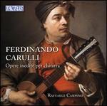 Ferdinando Carulli: Opere inedite per chitarra