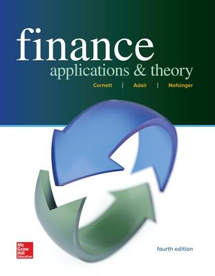 Finance applications and theory book by cornett 10 available finance applications and theory cornett marcia millon and adair troy fandeluxe Images